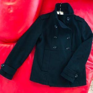 GAP Peacoat Wool Black Sz M